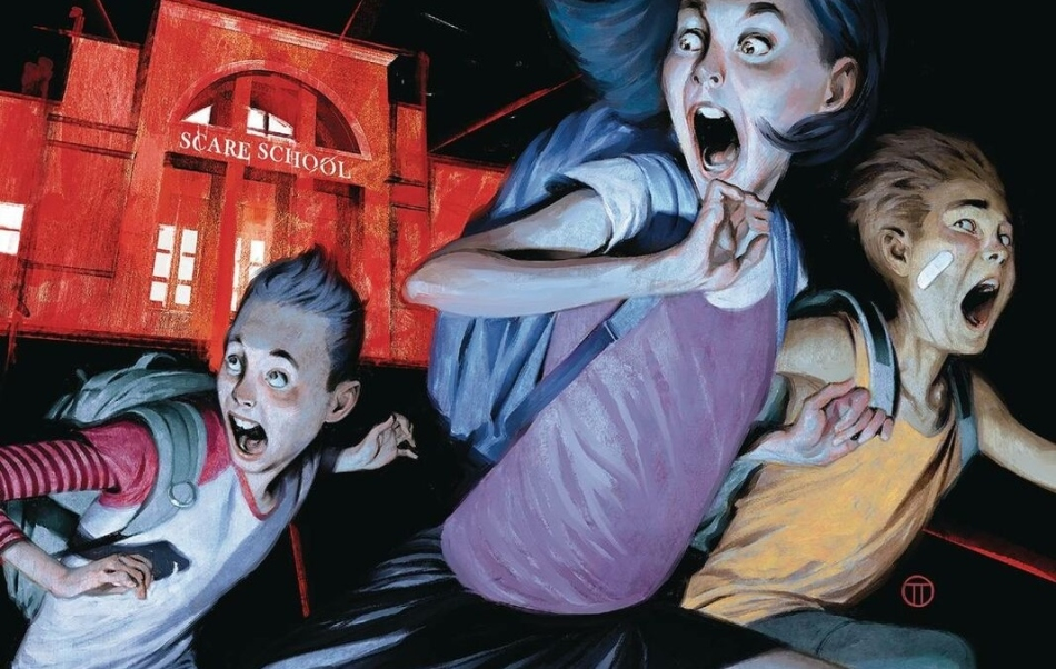 Best Graphic Novels 2021 Disney+ scares up R.L. Stein Just Beyond anthology TV series for