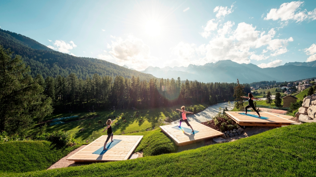 Yoga at Grand Hotel Kronenhof