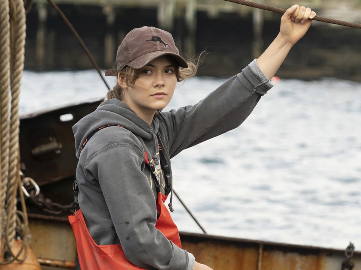 Emilia Jones as Ruby in CODA