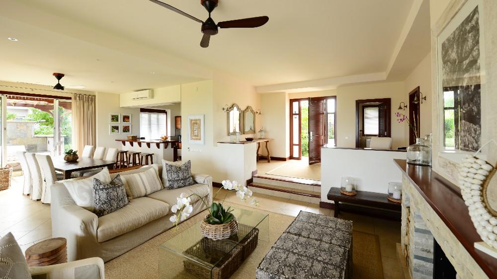 Spectacular interior design in Heritage The Villas Mauritius