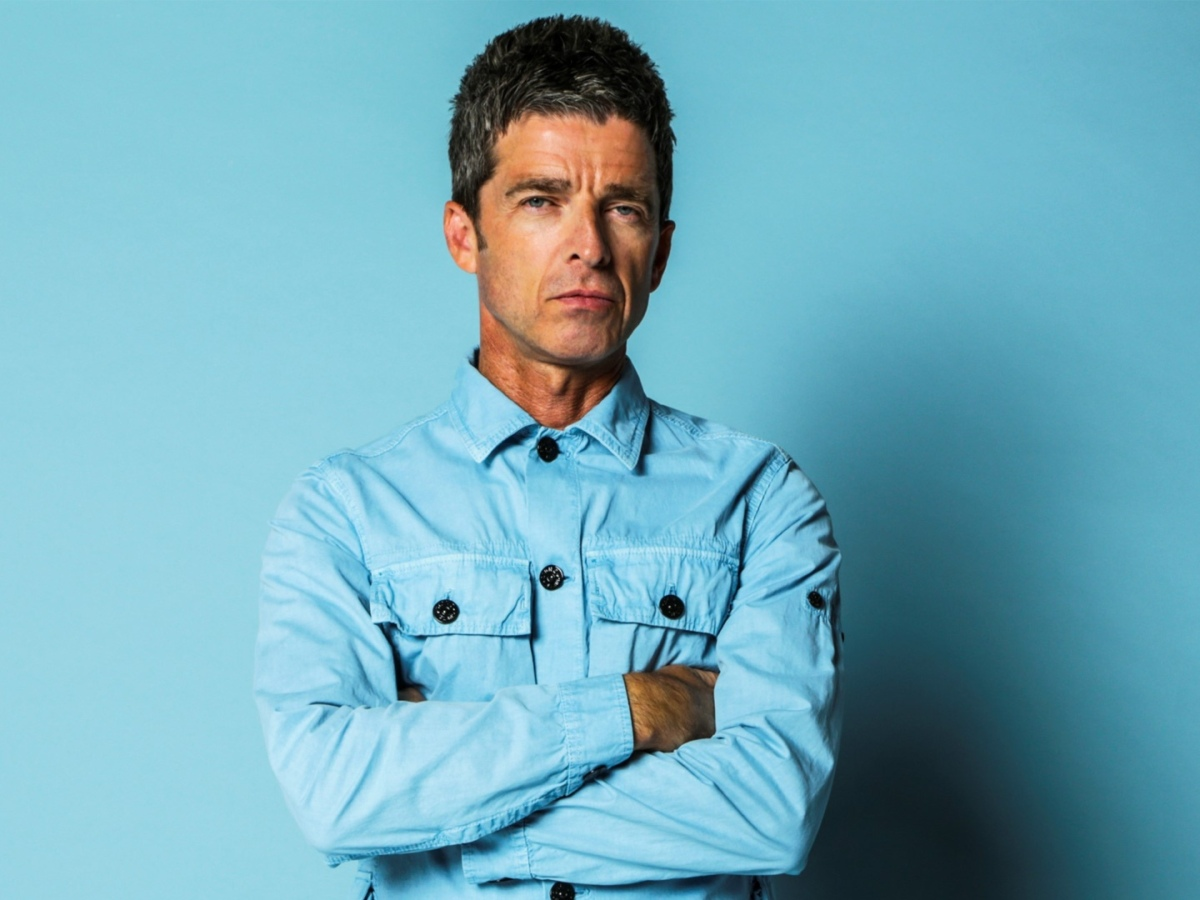 Noel Gallagher poses for Out of the Now