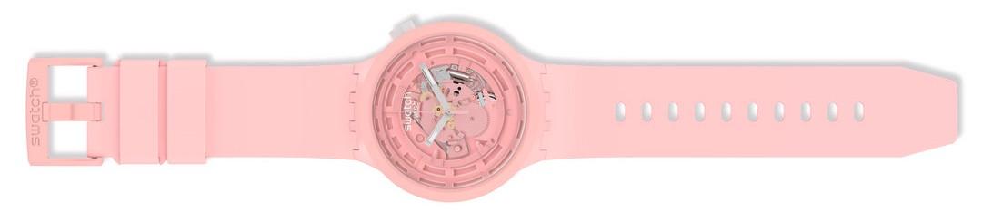 Swatch Bioceramic Big Bold watch in pink