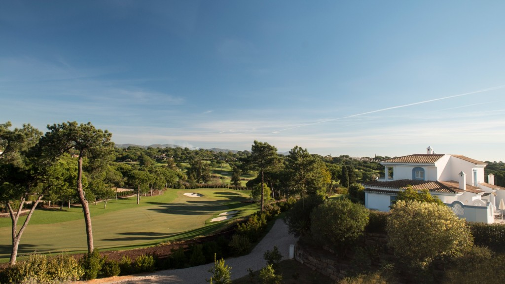 Beautiful view of the Four Seasons Fairways golf course in Portugal