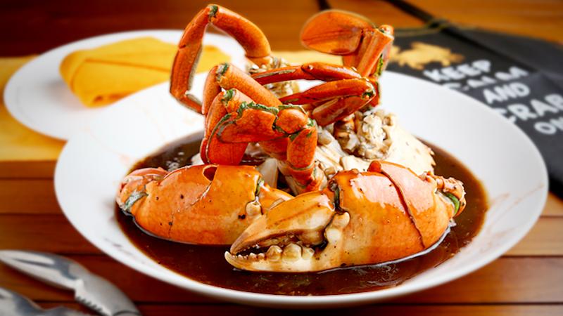 Crab dish at Ministry of Crab, Sri Lanka