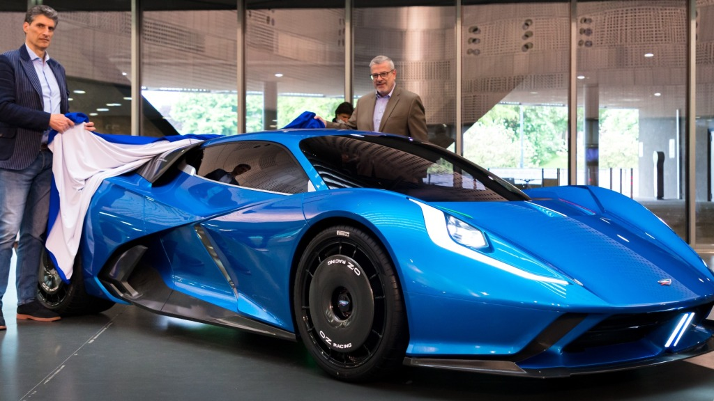 Automobili Estrema all-electric Fulminea hypercar unveiled