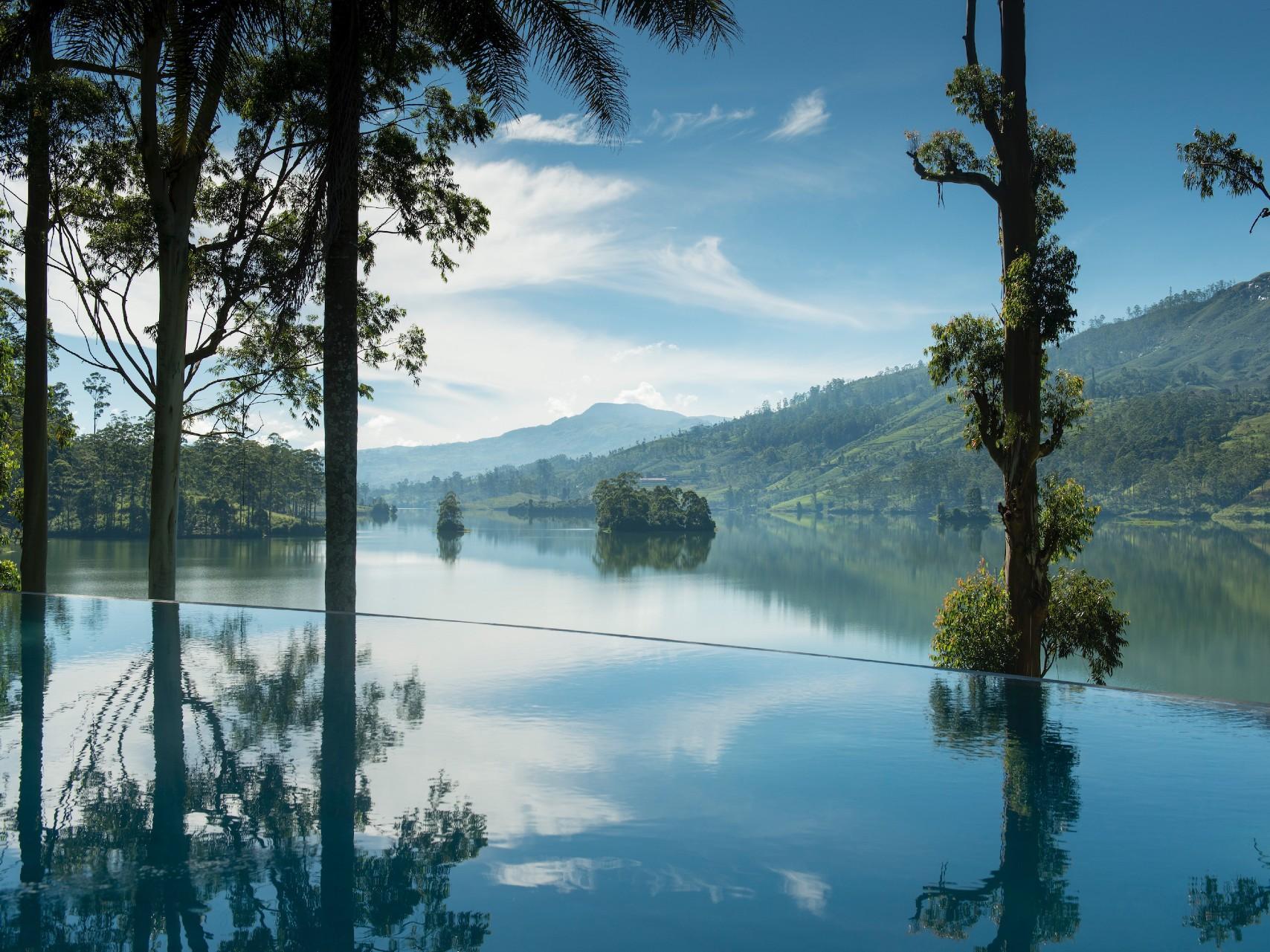 The view from Tea Trails resort Sri Lanka