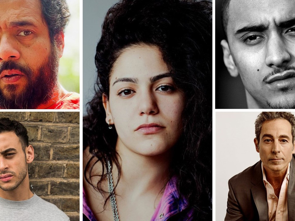 A collage of the new cast members of Gangs of London season 2