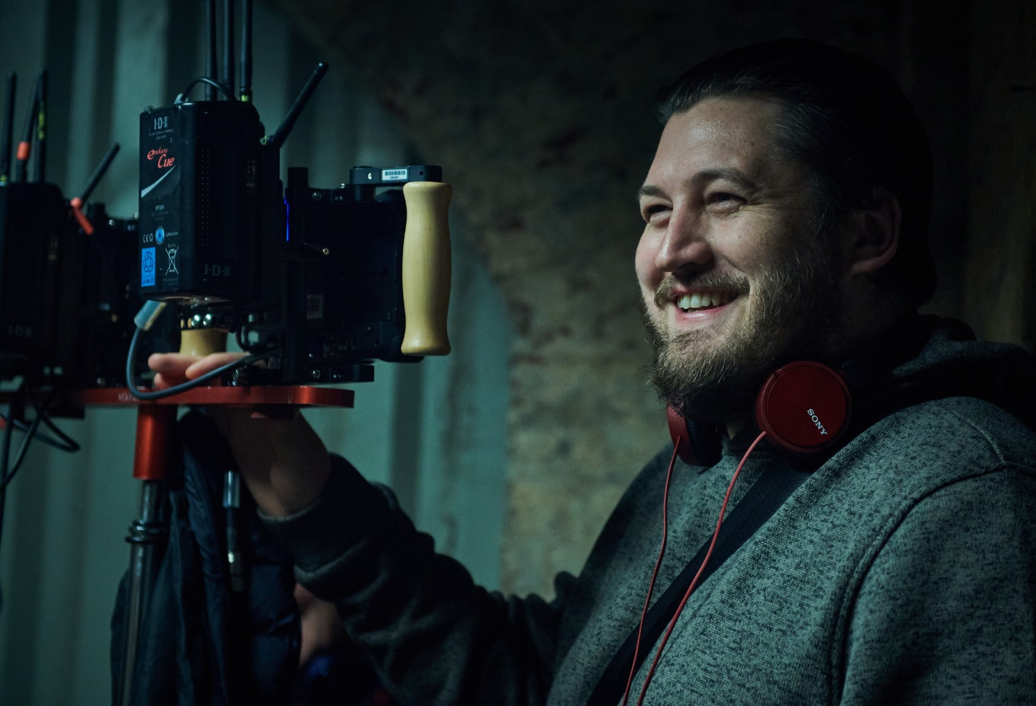 Gareth Evans directing Gangs of London Series 1