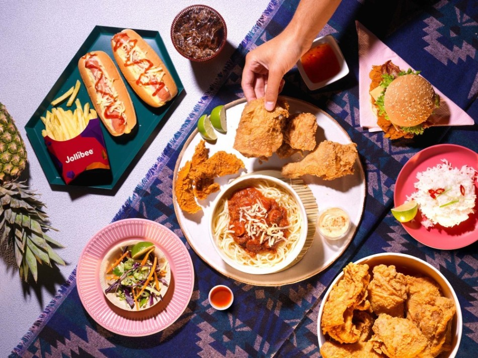 The best-selling items at Jollibee