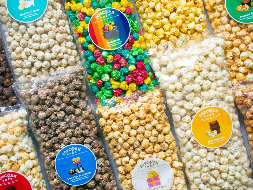 Popcorn Shed's bulk bags