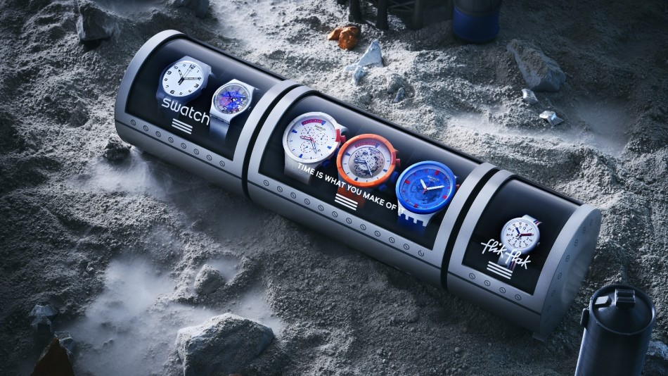 Swatch Space Collection collaboration with NASA