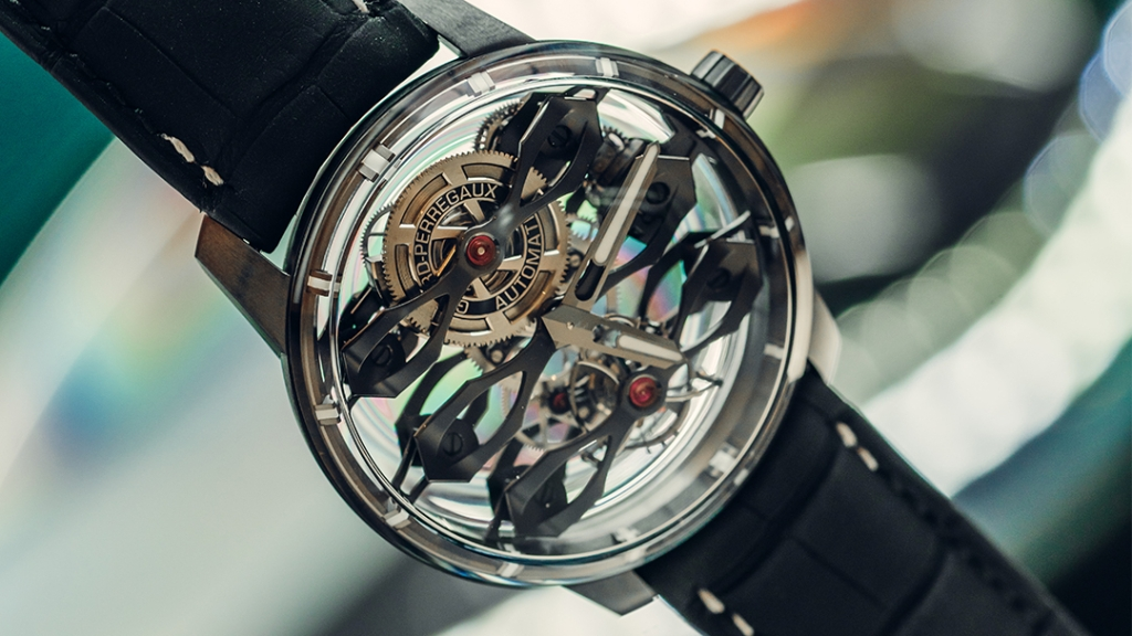 Limited Edition Girard-Perregaux and Aston Martin watch reveals intricate internal detail