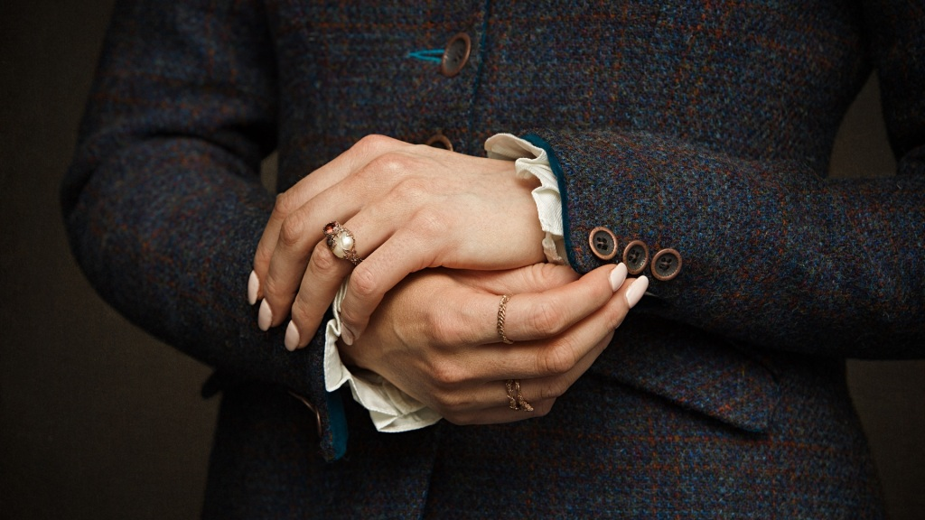 Isle of Harris tweed jackets cuffs and buttons