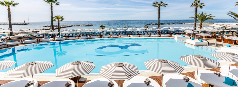 The pool at Ocean Club Marbella