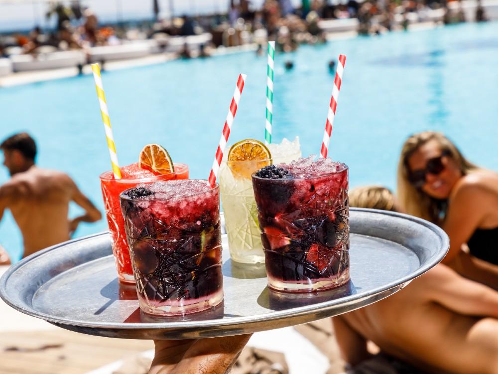 Cocktails at Ocean Club Marbella