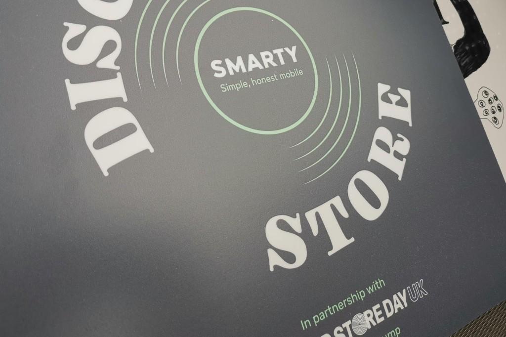 The Smarty album sleeve hides a Bjork vinyl record