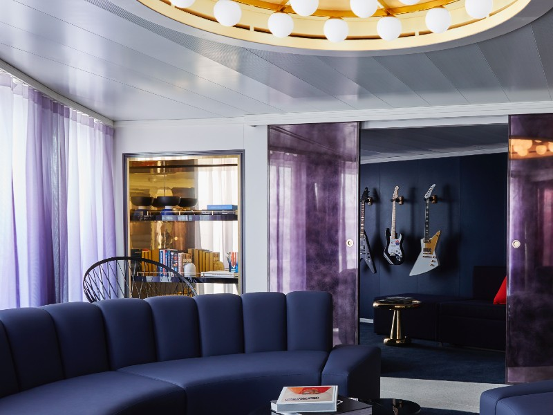 A 'Massive Suite' on board Virgin Voyages' Scarlet Lady