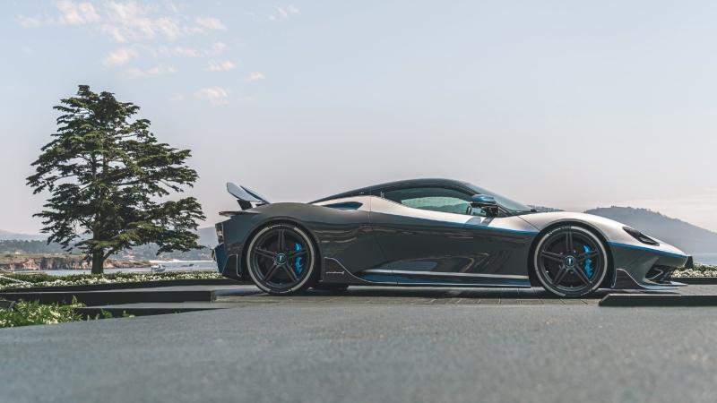 Automobili Pininfarina's ultra-exclusive Battista Anniversario parked up