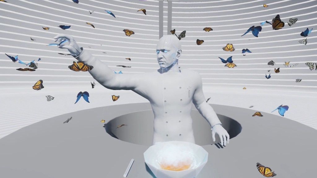 A virtual depiction of the Sublimation Cyber Chef