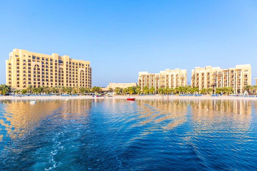 The stunning views of Al Marjan island, Ras Al Khaimah