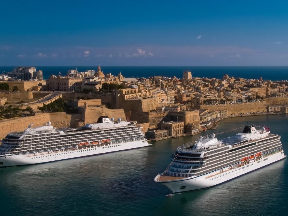 Viking Venus and Sea in Malta