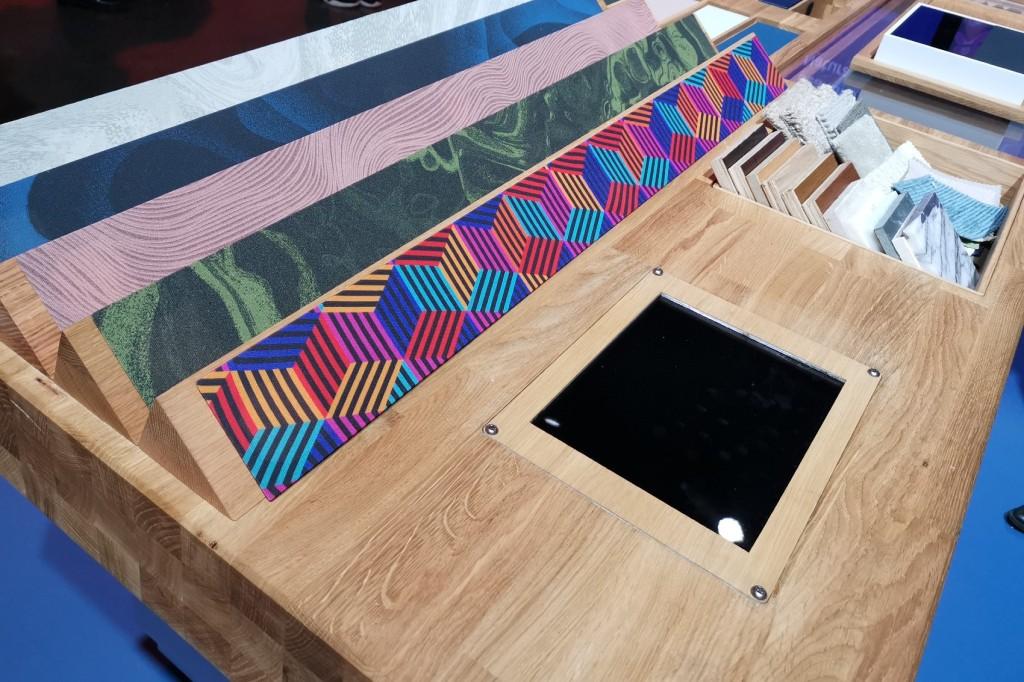 Colourful Sky Glass custom fascias in a row