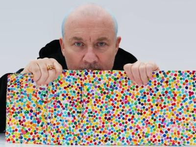 Damien Hurst prepares for Frieze London with digital art