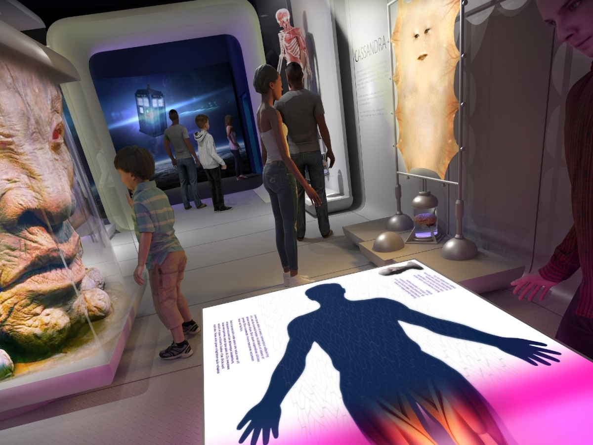 Concept art for Doctor Who Worlds of Wonder exhibition
