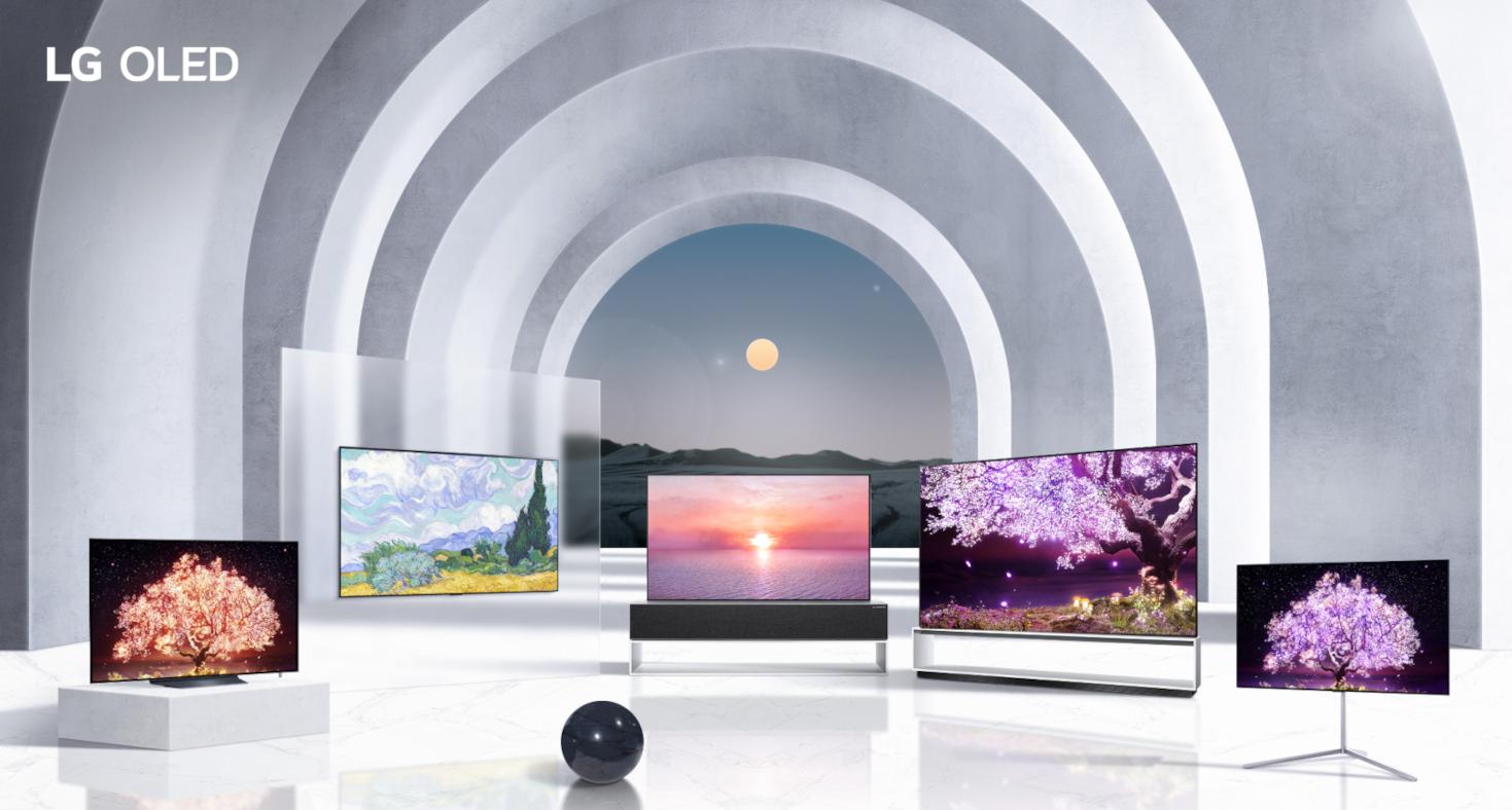 LG's OLED TV range for 2021